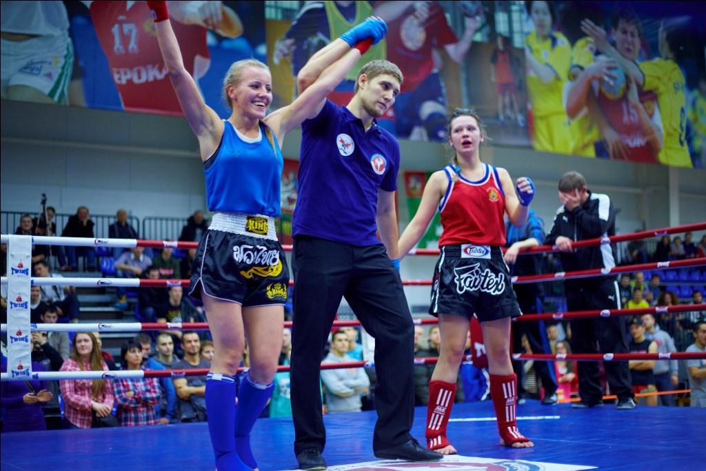 Кристина Мялина чемпионка Московской Области и Москвы по Тайскому боксу